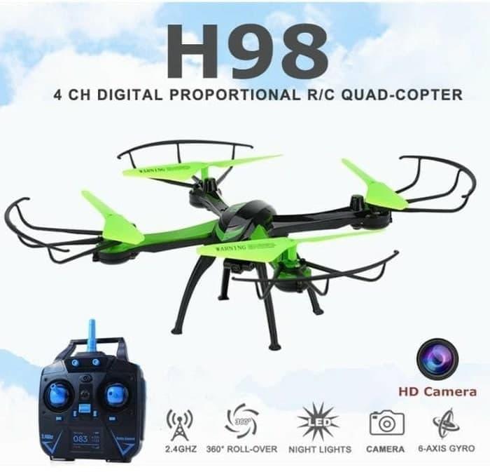 SALE - Drone JJRC H98 murah Camera 420P kamera + slot Memory Card Original