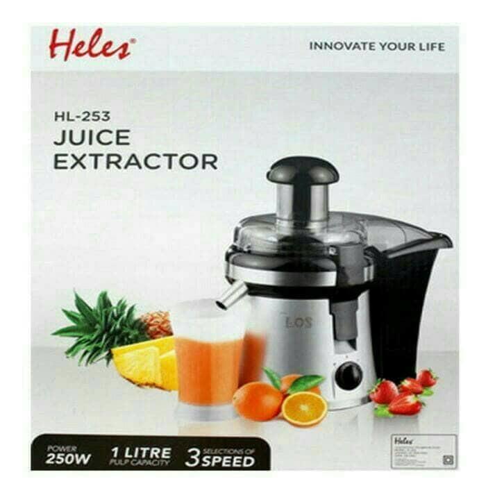 Promo Alat Mesin Pembuat Jus Buah Blender Juice Extractor Heles HL-253 Termurah