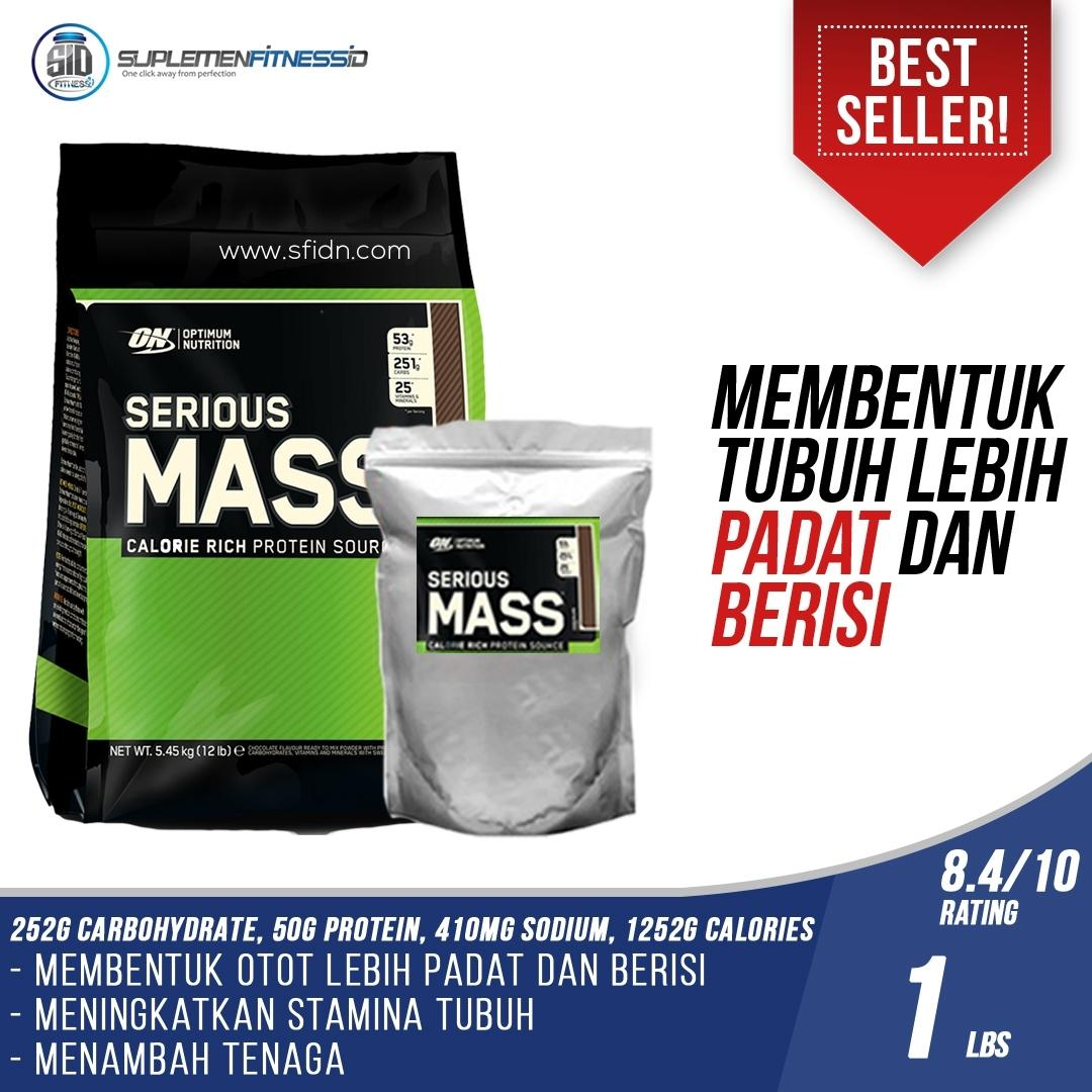 Buy Sell Cheapest Serious Mass Gainer Best Quality Product Deals 12lbs Optimum Nutrition 1 Lbs Eceran