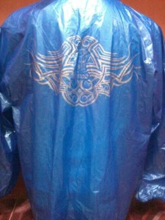 Promo Jas Hujan Ibex Tribal Skotlet (Stelan Jaket + Celana) original