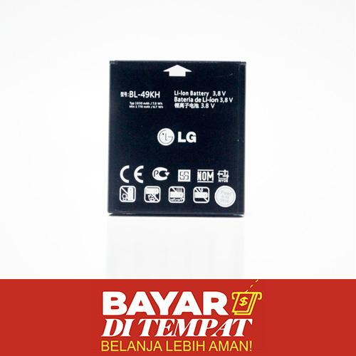Baterai For LG 49KH Batere Battery 49 KH Kualitas Original ORI - Bisa Untuk LG : LU6200 Optimus LTE , Optimus LTE Tag , P930 Nitro HD , P936 Optimus True HD LTE , SU640 Optimus LTE , VS920 Spectrum