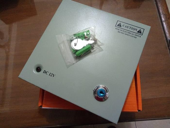 Power supply camera cctv taiwan 4channel (box 4ch) / power supply box