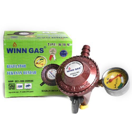 Winn Gas Regulator Gas Meter W-18 M SNI