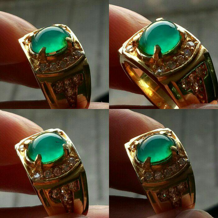 NEW PROMO natural cincin batu bacan doko gulau top quality good