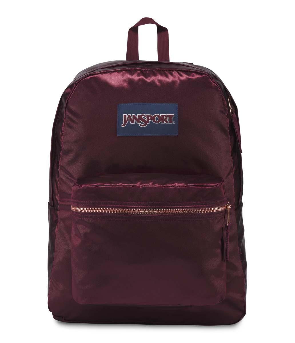 Tas Ransel JanSport High Stakes Russet Red/Rose Gold