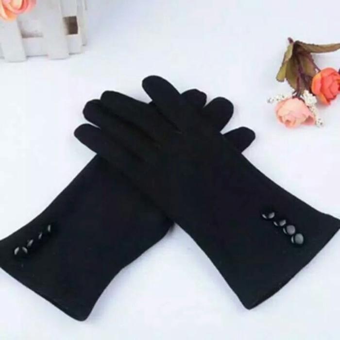 Gloves Sarung Tangan FULL winter bs touchscreen -  Sarung Tangan Wanita Terlaris - Sarung Tangan Fa