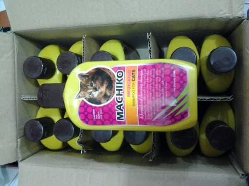 Hemat 15% SHAMPO MACHIKO MEDICATED BUAT KUCING - ready stock