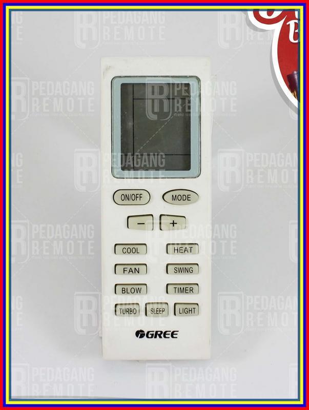 Remot Remote Ac Gree Yb1A21 Ori Original