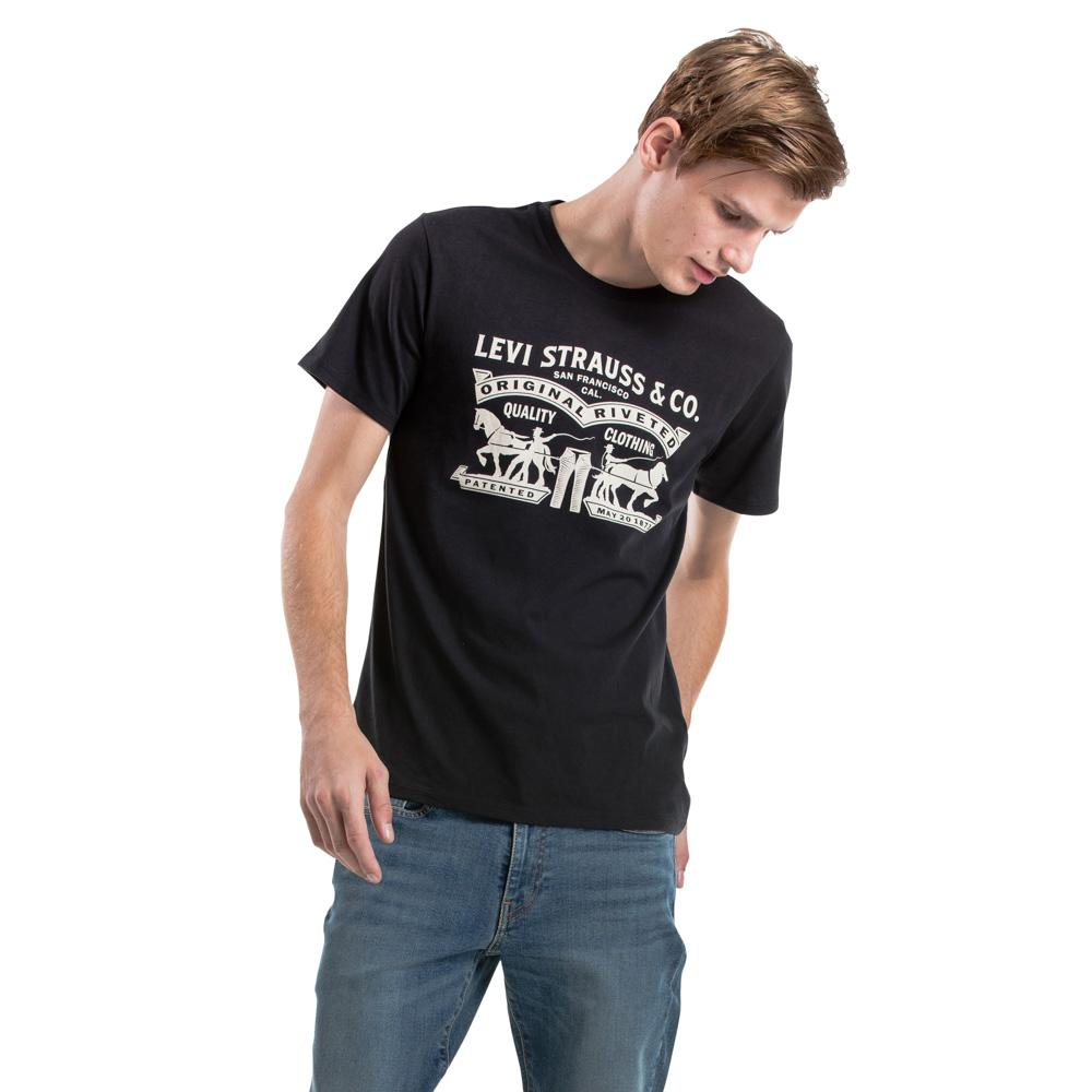 Levis Iconic 1967 Batwing Tee Jet Black Lihat Daftar Harga Terbaru The Perfect Better Two Hrose White G 17369 0221 Size Xs Graphic Set In Neck 2 Horse Graphi 17783 0103