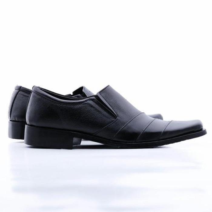 Grosir Sepatu Kulit Pantofel Sepatu Pria Sepatu Kerja Kantor Sol Kare