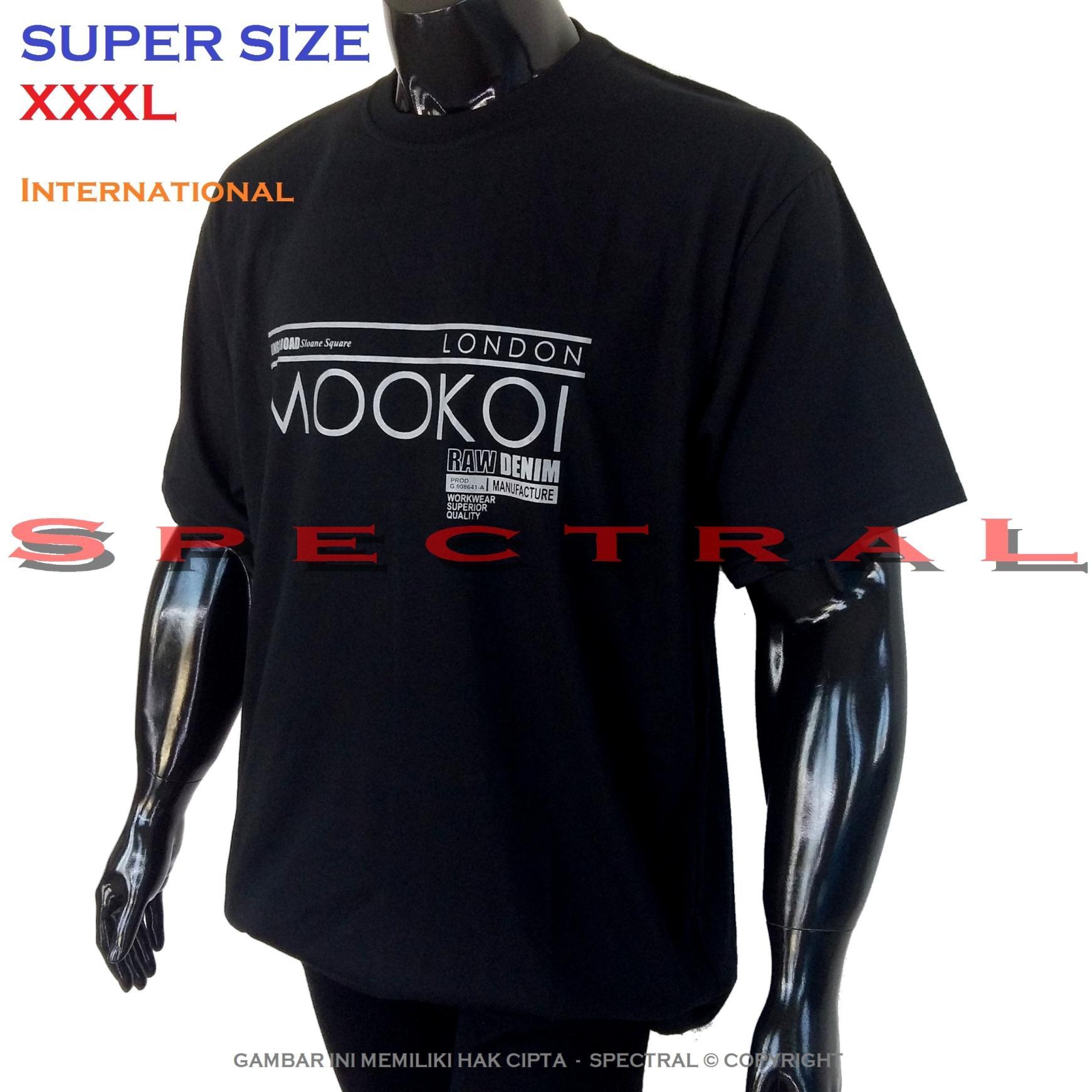 Spectral – SUPER BIG SIZE XXXL INTERNATIONAL 100{55e037da9a70d2f692182bf73e9ad7c46940d20c7297ef2687c837f7bdb7b002} Soft Cotton Combed Kaos Distro Jumbo BIGSIZE T-Shirt Fashion Ukuran Besar Polos Celana Atasan Pria Wanita Katun Bapak Orang Tua Gemuk Gendut Lengan Simple Sport Casual 3L 3XL Baju Cowo Cewe Pakaian Terbaru