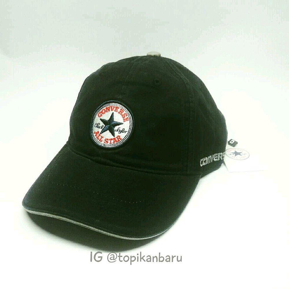 Topi Converse New Era Import Ori - Black01 di lapak Topi KanBaru topikanbaru