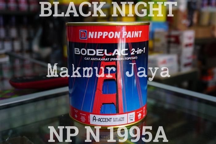 Bodelac Black Night Np N 1995A Tinting Cat Besi Kayu Anti Karat
