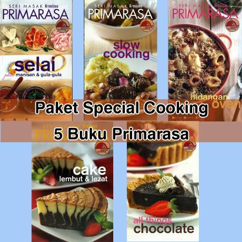 Paket Primarasa 5 Buku Special Cooking By Feminagroup.