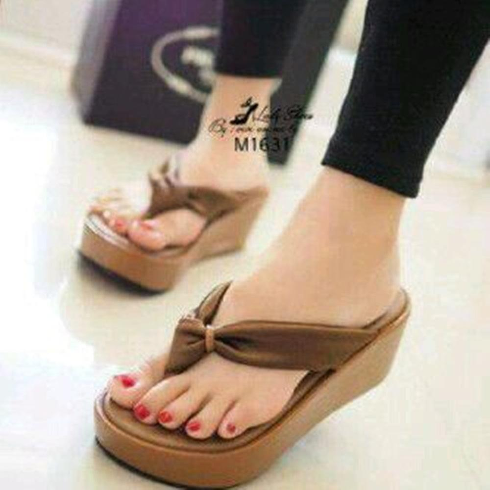 Buy Sell Cheapest Sandal Tali Kepang Best Quality Product Deals Sendal Flat Teplek Hitam Wedges Jepit