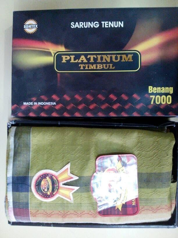 Terlaris  PLATINUM TIMBUL - SARUNG TENUN 7000