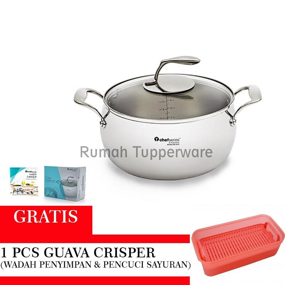 Buy Sell Cheapest Cute Guava Mini Best Quality Product Deals Minute Maid Homestyle 1l Tupperware Tchef Casserole Free Crisper 1pcs