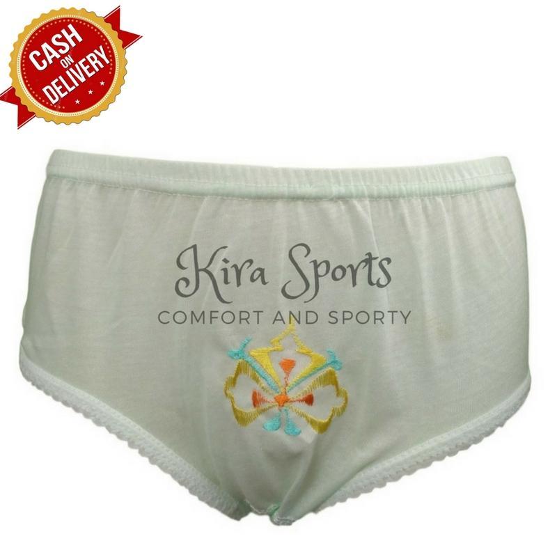 Kira Sports Celana Dalam Wanita Sexy / Bukan Merk Sorex Jumbo Transparan G-string Boxer Untuk Ibu hamil / Aneka Motif Bunga Renda Seksi Terbaru/ Dalaman Perempuan Katun Dewasa dan Anak Murah ANK703 - Bisa COD
