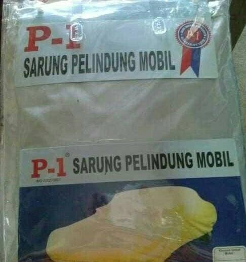 PROMO!!! body cover/sarung/penutup/selimut/cover mobil BRV - SSPtmb