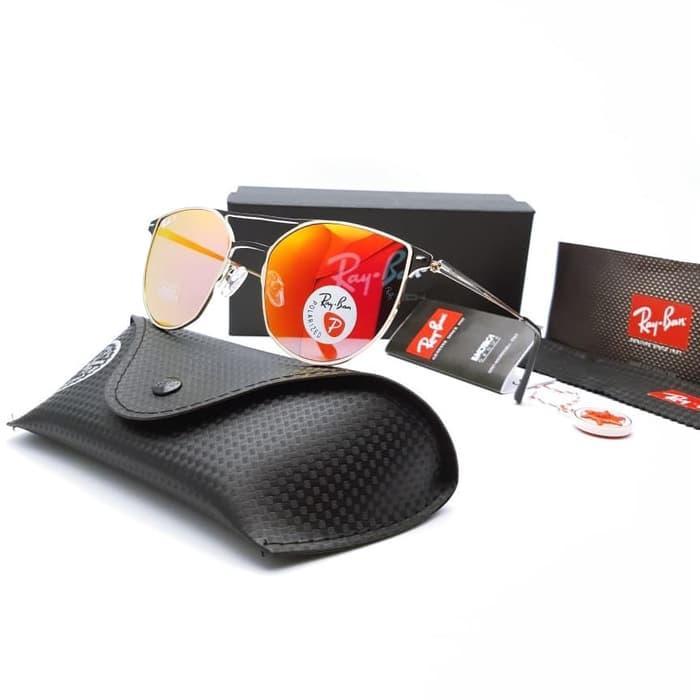 Kacamata / Sunglass Pria Rb Am9910 Fullset + Cairan Pembersih