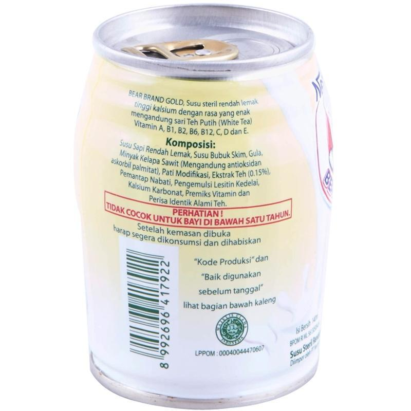 Bear Brand Milk X 6 Kaleng Daftar Harga Terlengkap Indonesia Source. Nestle Bear Brand Ready