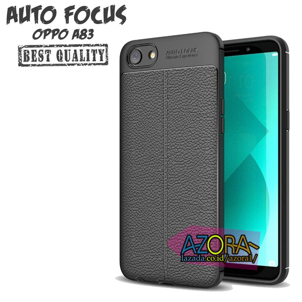 Case Auto Focus Oppo A83 Leather Experience Slim Ultimate