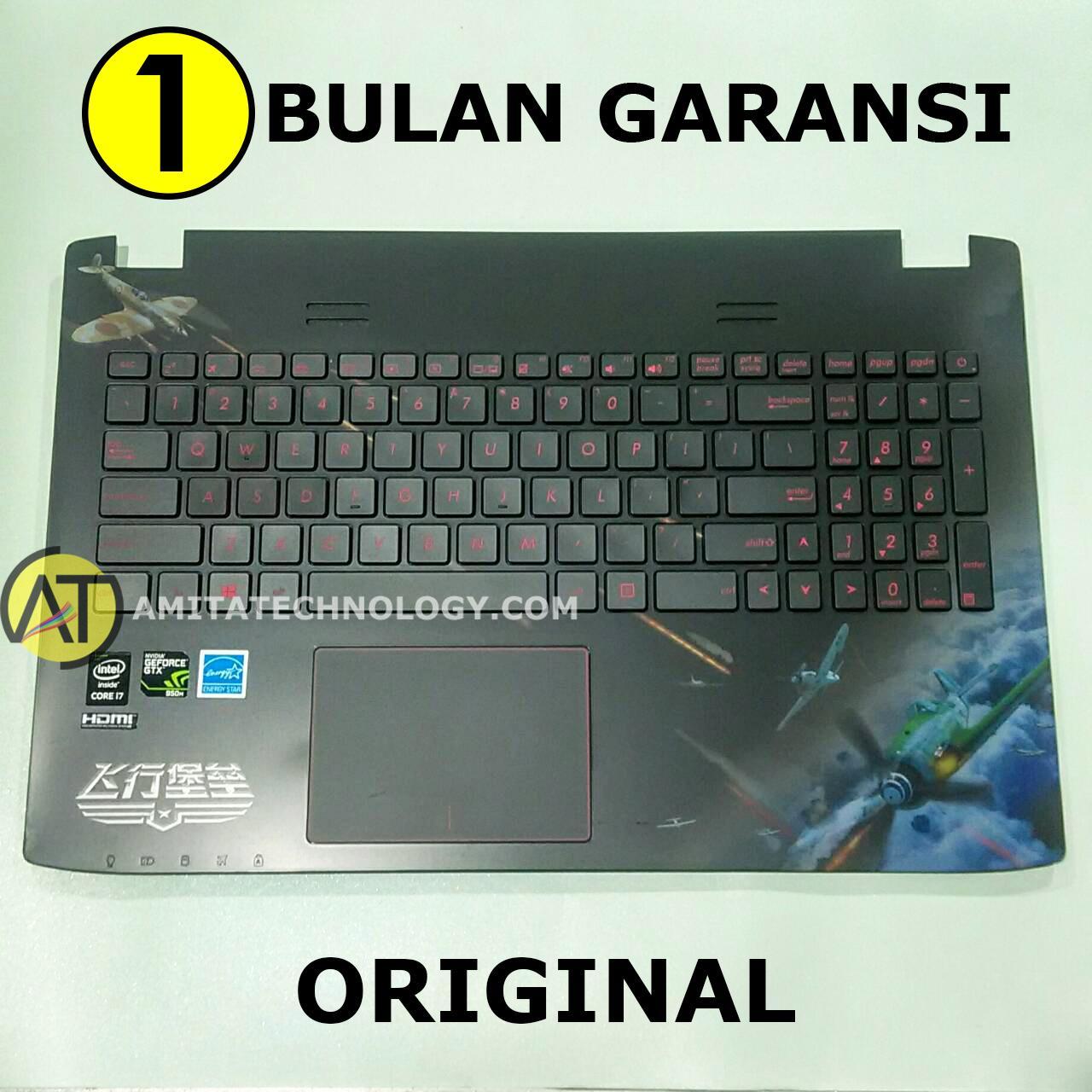 Amita - Keyboard ORIGINAL Asus ROG GL552 GL552JX GL552VW GL552VX