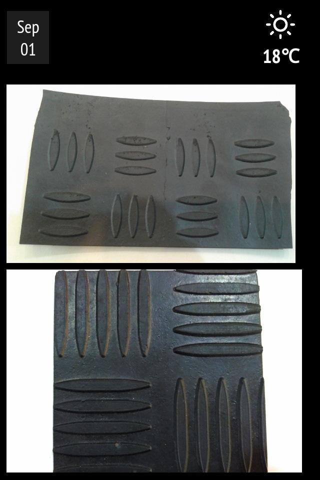 Karpet karet lantai anti slip motif bordes - Pcm4Rj