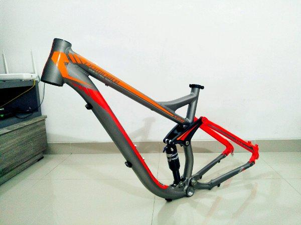 Frame Dominate T2 COPOTAN BARU Plus Headset Seat Clamp dan Anting RD Not Mosso Polygon Xtrada Thrill Ravage Patrol Giant Merida Orbea Siskiu