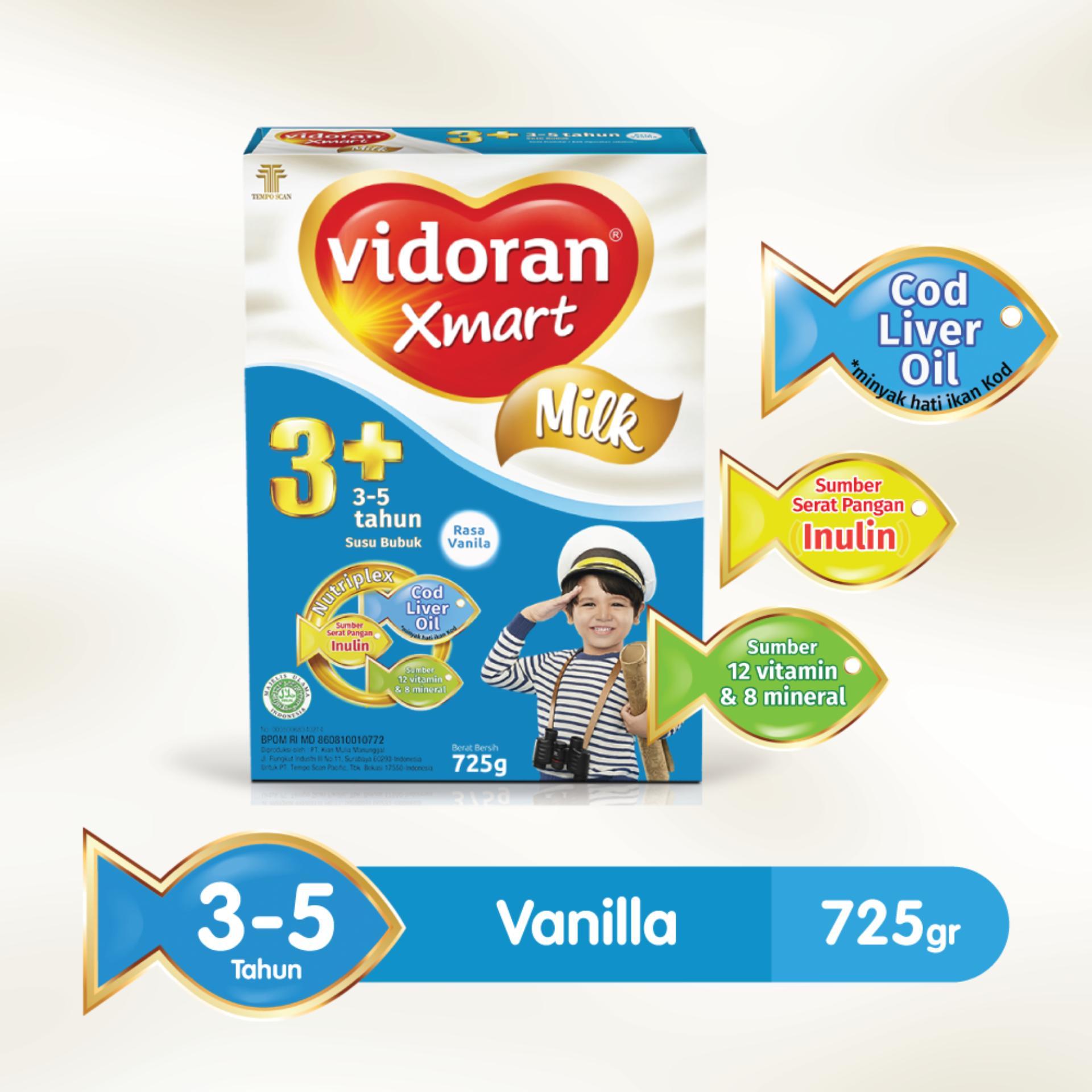 Susu Formula Bayi Terbaik Termurah Bebelac 4 Vanilla Madu 400gr Vidoran Xmart 3 Nutriplex 725 G