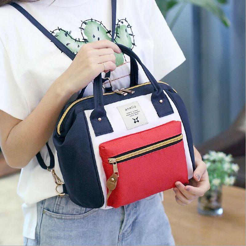 Tas Anello Selempang Ransel Backpack Small Mini Bag Import Tas Wanita - KOMBINASI - EDW 027