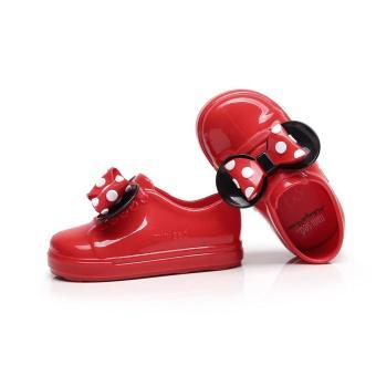 Penjualan Eelc Indah Slip Pada Sepatu Jeli PVC Tahan Air Sandal Jeli dengan Ikatan  Simpul Dekorasi Unisex untuk Bayi Anak Laki-laki dan Perempuan terbaik ... 48da0eafba