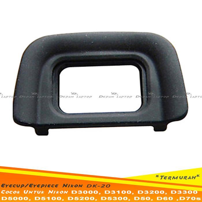 Eyecup. Eyepiece DK-20 Nikon D3000 D3100 D3200 D3300 D5000 D5100 D5200