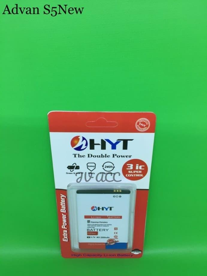 BATTERY BATERAI BATRE HYT DOUBLE POWER ADVAN S5E NEW DOUBLE IC PROTECTION