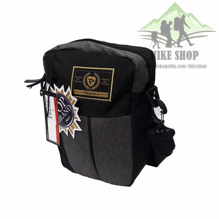 EKSKLUSIF!!! Tas Selempang Palazzo 39393 Brown Not Eiger/Kalibre/Bodypack Murah Asli Branded Import