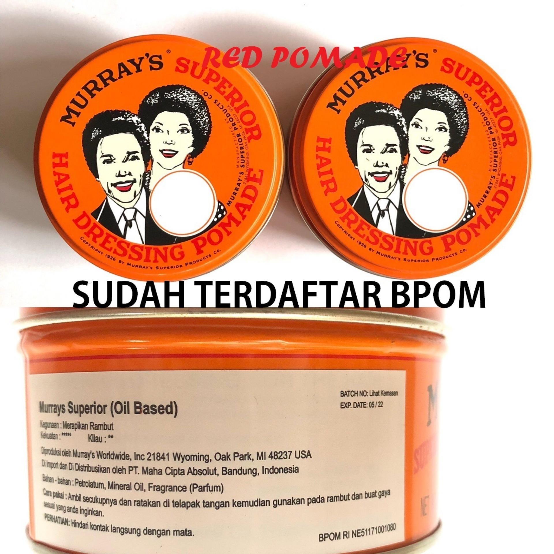Jual Produk Pomade Murray S Terbaru Di Murrays Edgewax Water Based Original  Grosir Superior 3 Oz Heavy Oilbased Oil