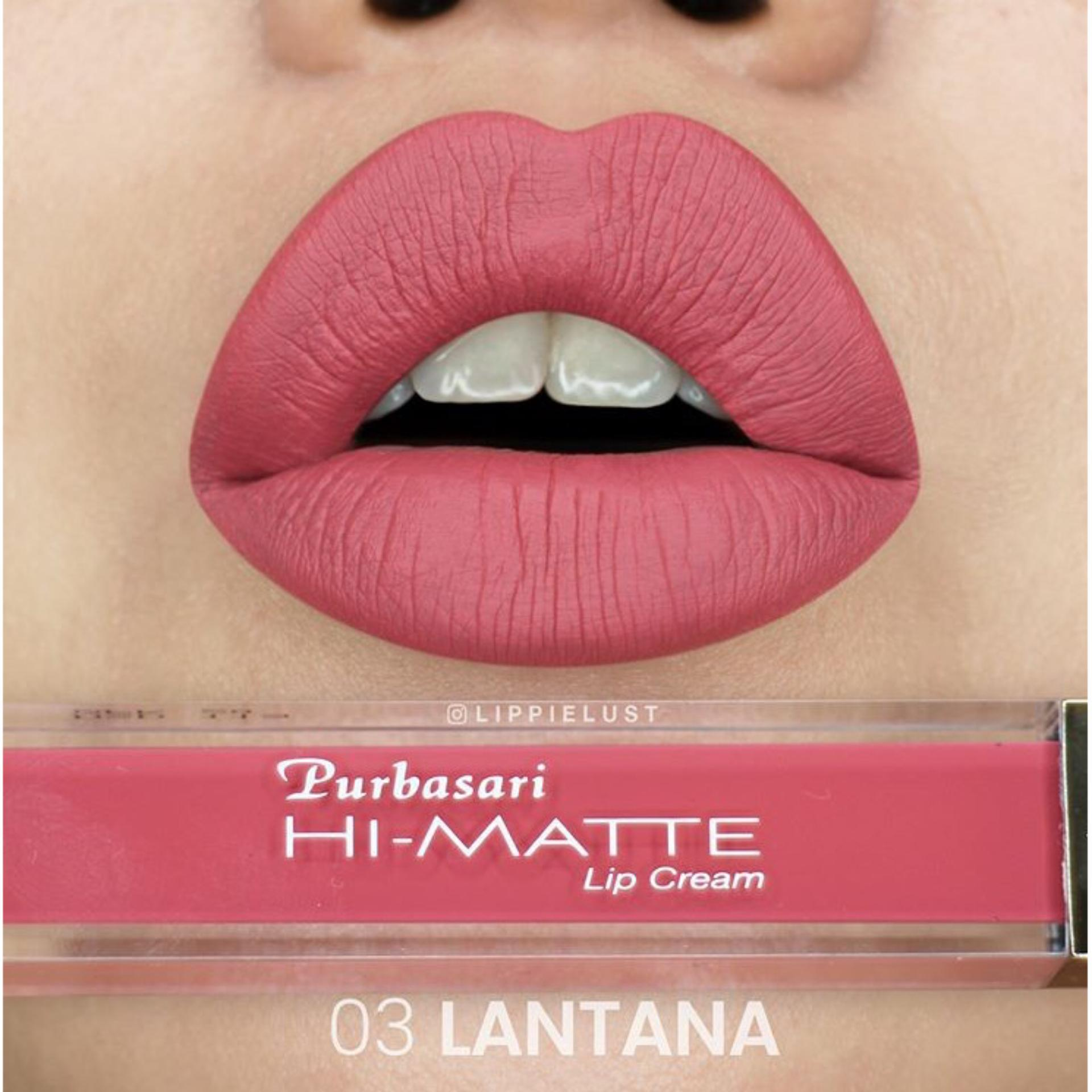 Purbasari Hi-matte Lip Cream - 03 Lantana