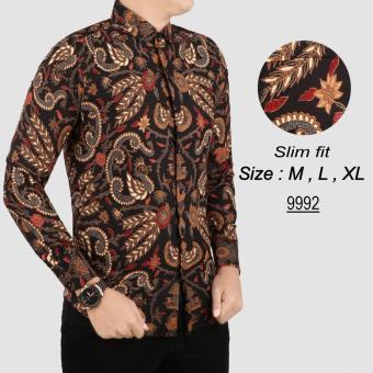Pencari Harga her+man Batik Pria Modern Kemeja Batik Pria Slim fit F1X02  terbaik murah - Hanya Rp108.661 2f9228dd19