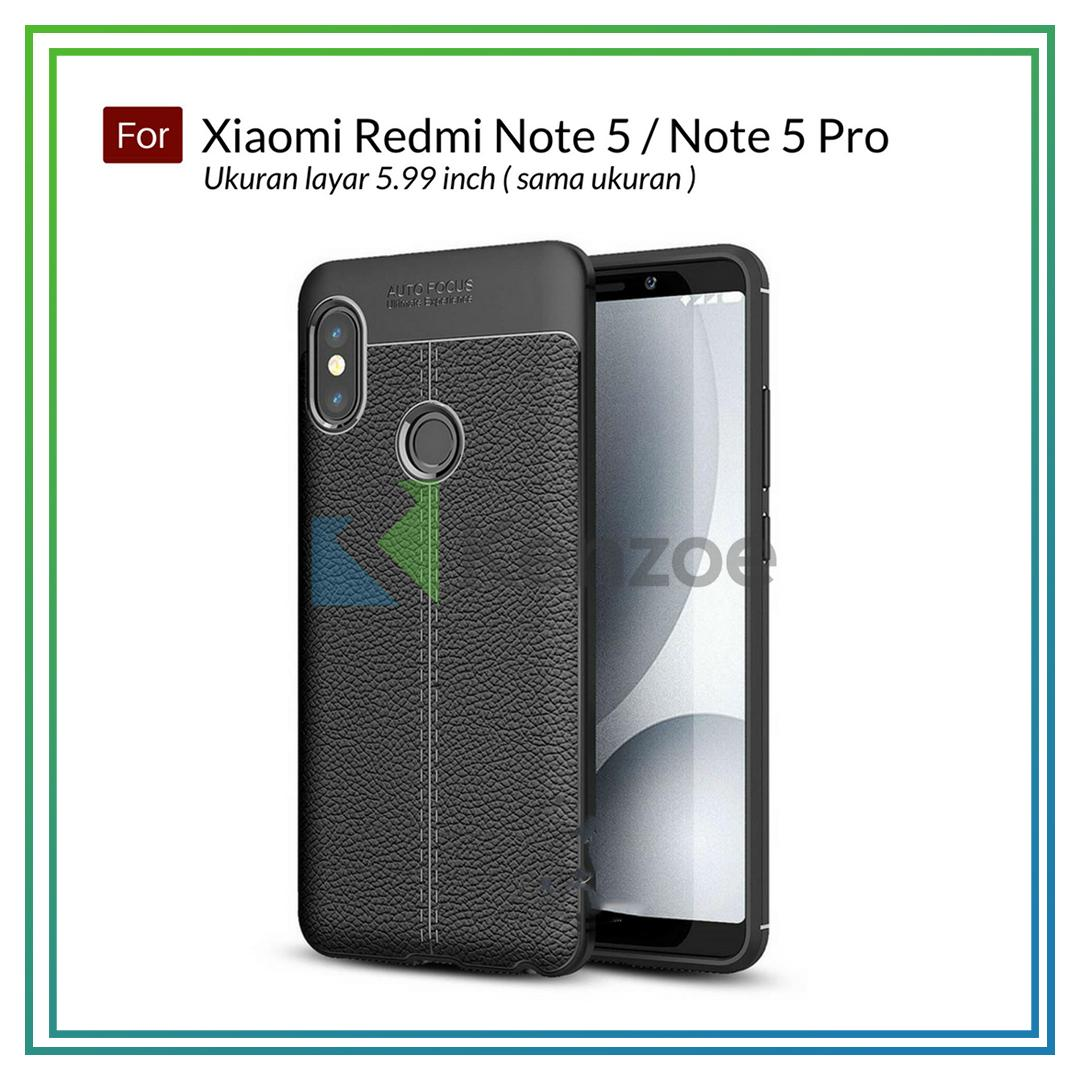 Kenzoe Case Ultimate Experience Shockproof Premium Quality Hybrid Case Leather For Xiaomi Redmi Note 5 /