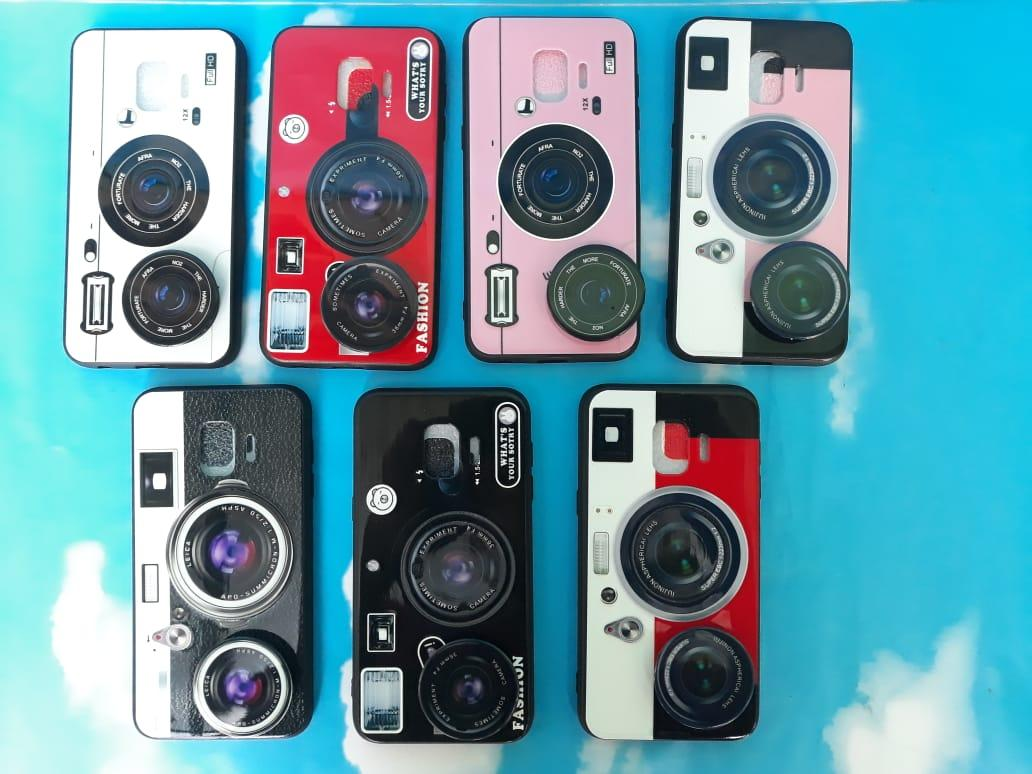 Case/Softcase Motif Kamera Dan Pop Socket For Samsung J2 Core- PM2902