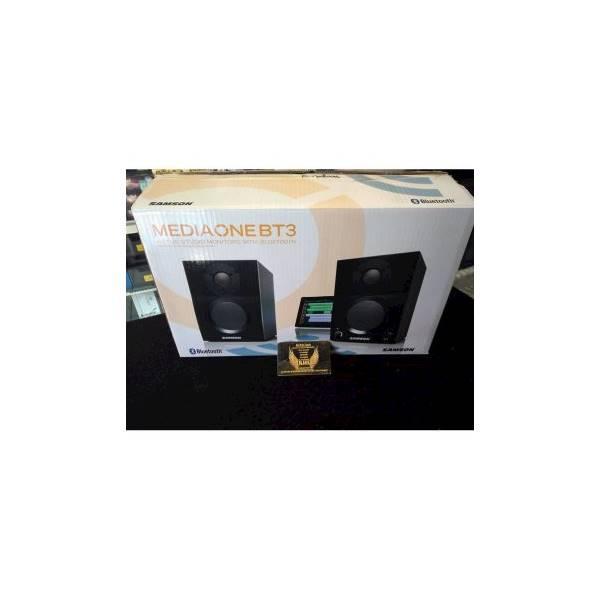 Penjualan Terpopuler SAMSON MediaOne BT3 Active Studio Monitor with Bluetooth speaker aktif / speaker laptop / speaker super bass