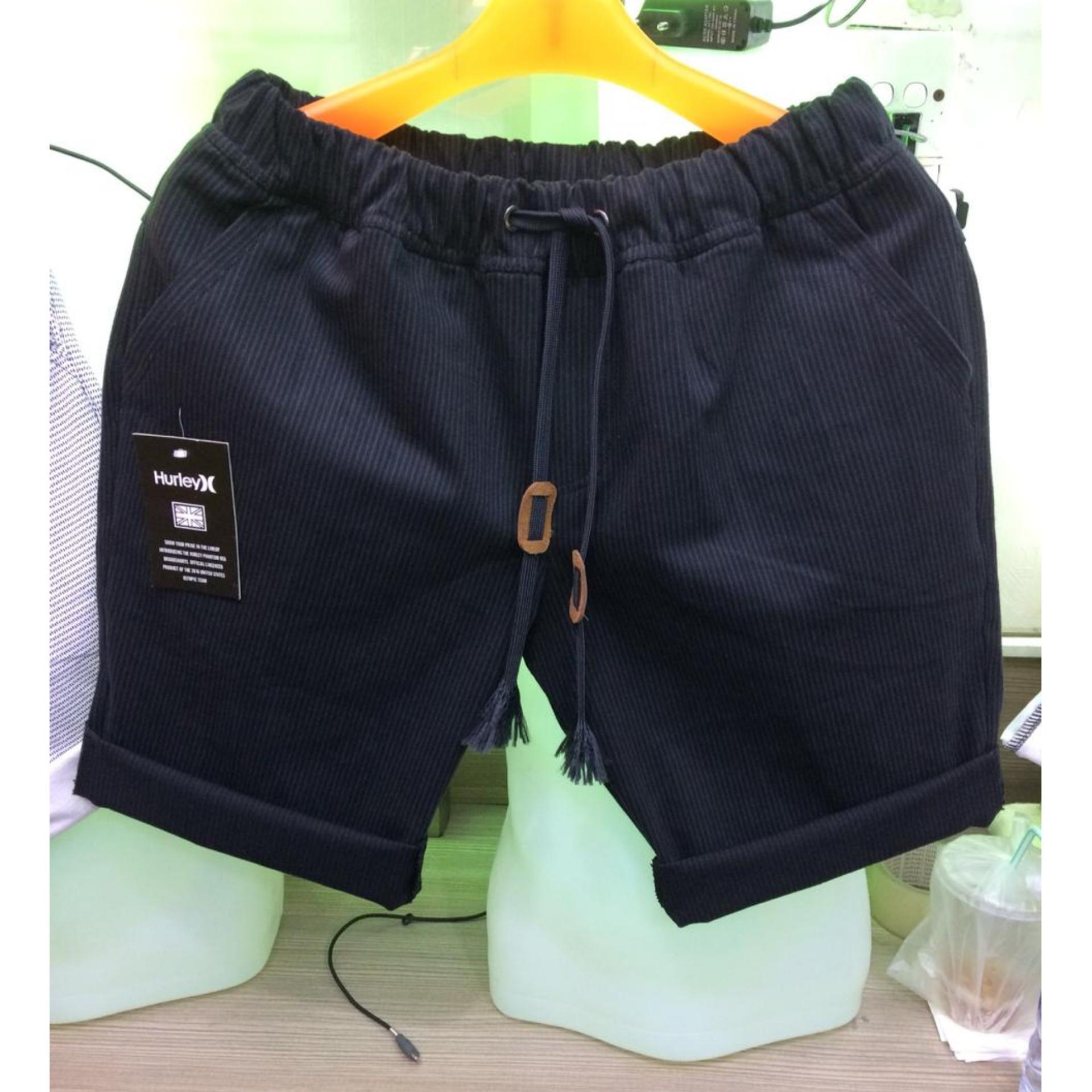 RGS store celana pendek pria distro celana santai bahan twill stretch premium