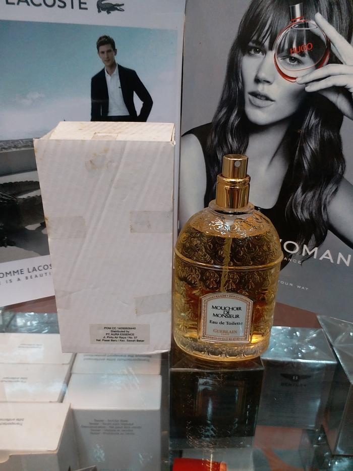 Original Parfum Guerlain Mouchoir De Monsieur Tester