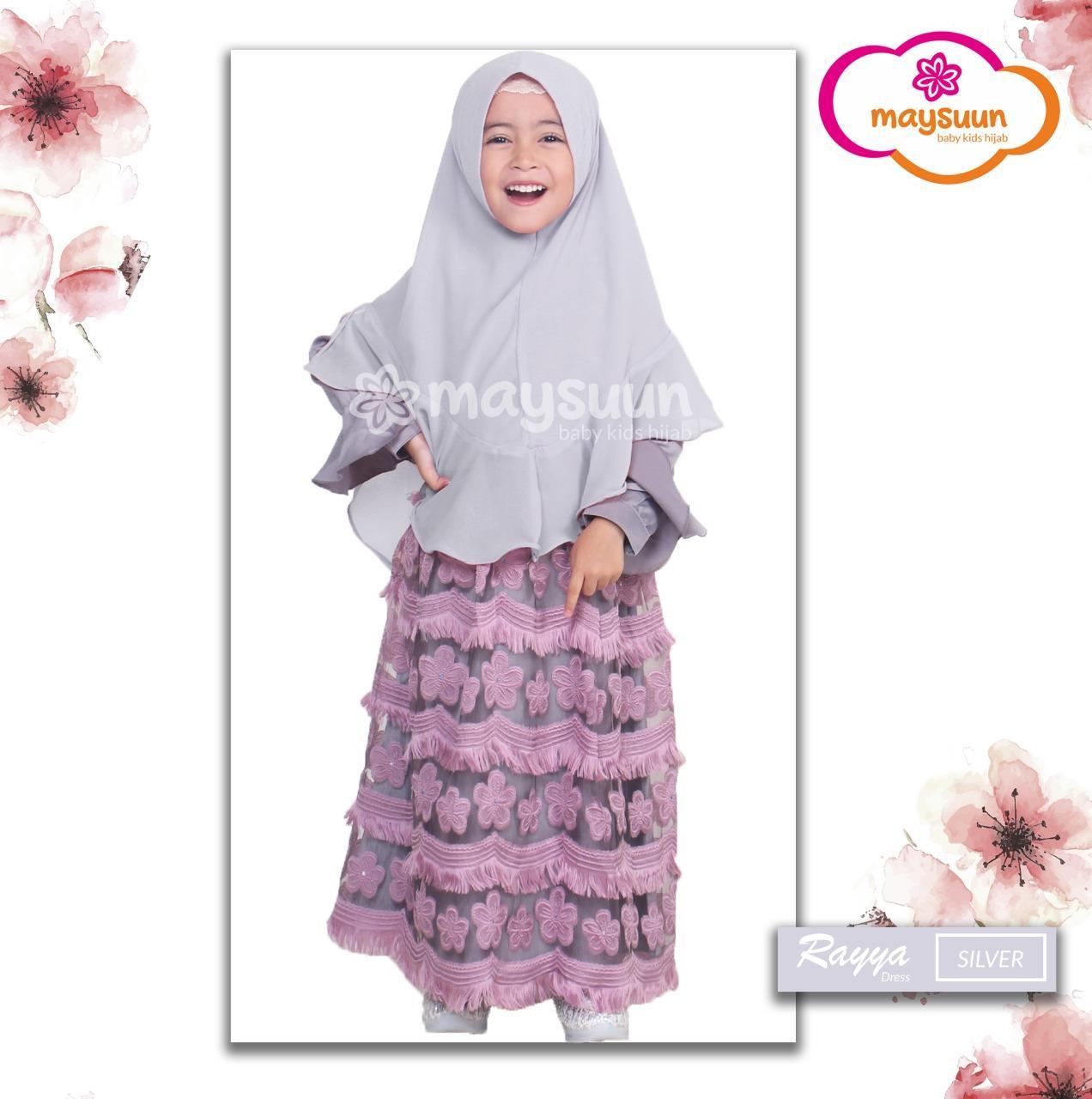 Daftar Harga Baju Muslim Anak Hijab Store Termurah November 2018 Gamis Long Dress Set Cewek