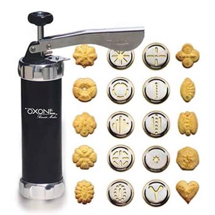 Promo / Hot Sale / Ox-322 Oxone Biscuit Maker ( Alat Untuk Mencetak 10 Model Kue) By Cahayasumber77.