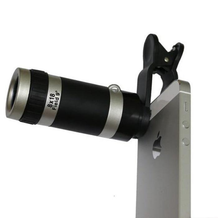 Harga Uniqtro Universal Telezoom 8x Smartphone Lense Untuk Asus Zenfone 2 Ze500cl Hitam Harga Rp 78.000