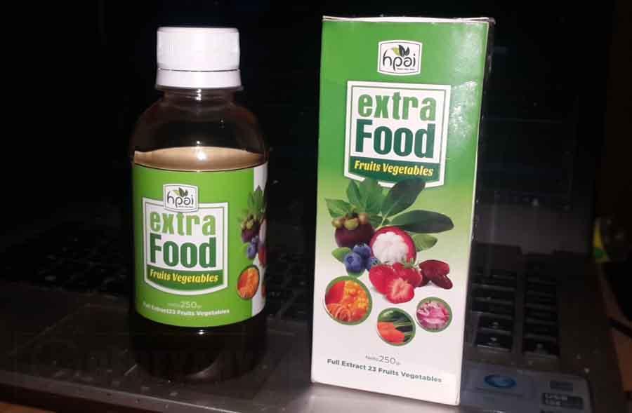HPAI Extra Food ekstrak buah dan sayuran 250ml