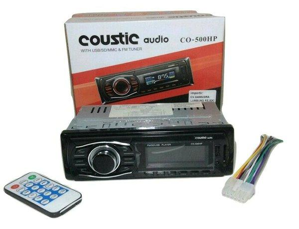 Tape mobil Coustic Audio CO500HP mp3 usb murah