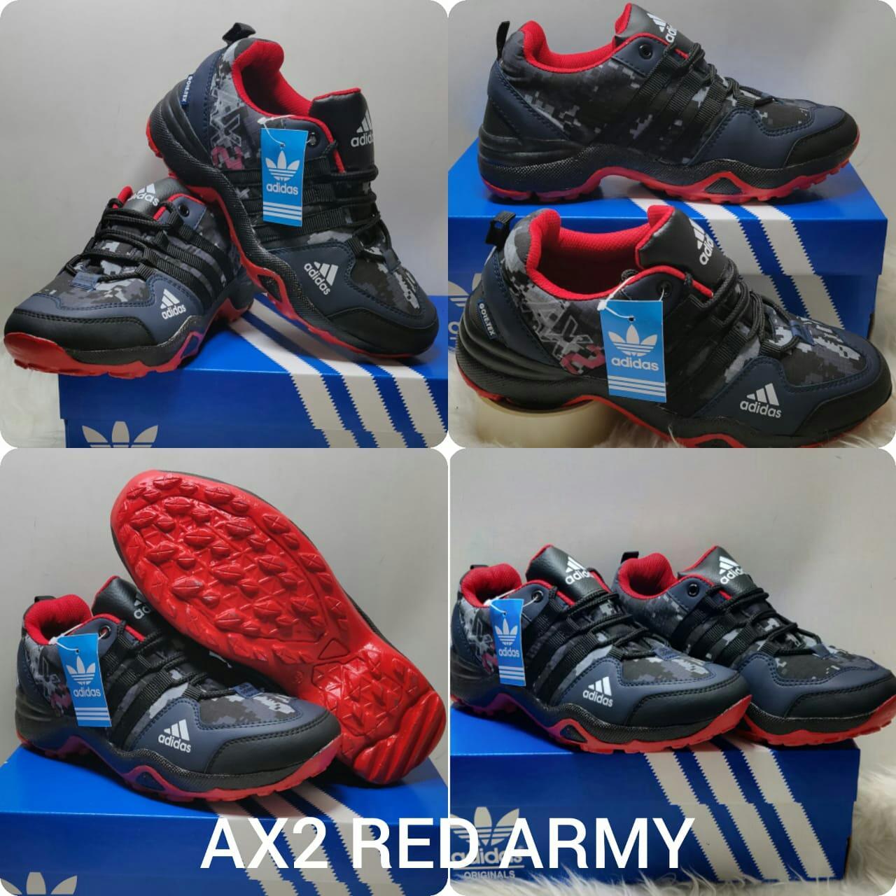Sepatu Adidas AX2 Army Running Sport Pria