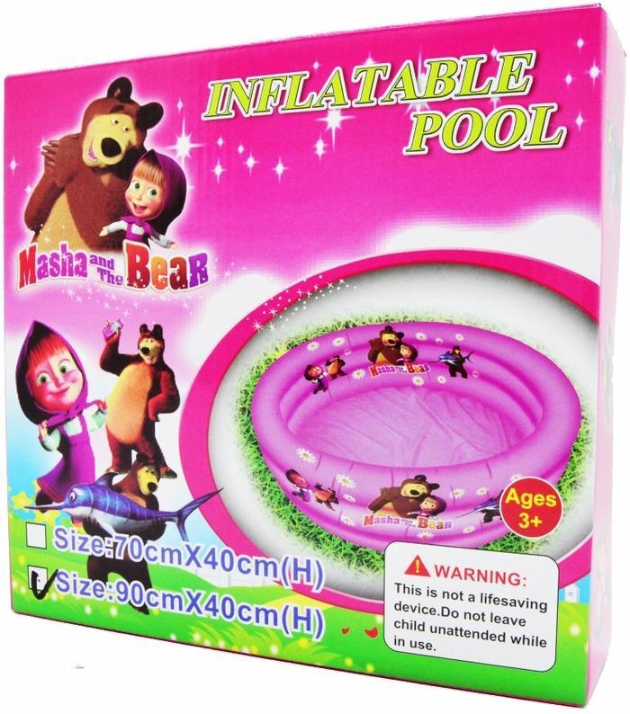Kolam Renang Bermain Anak - Marsha &the Bear 90 Cm By Libra Toys Kingdom.